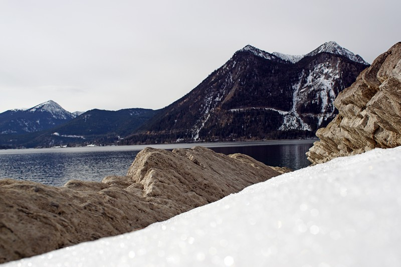 Walchensee Winter